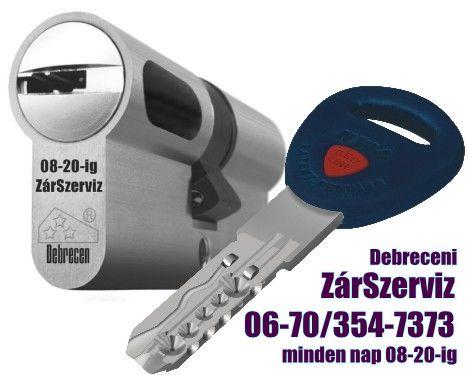 Debreceni Zárszerviz  08-20-ig