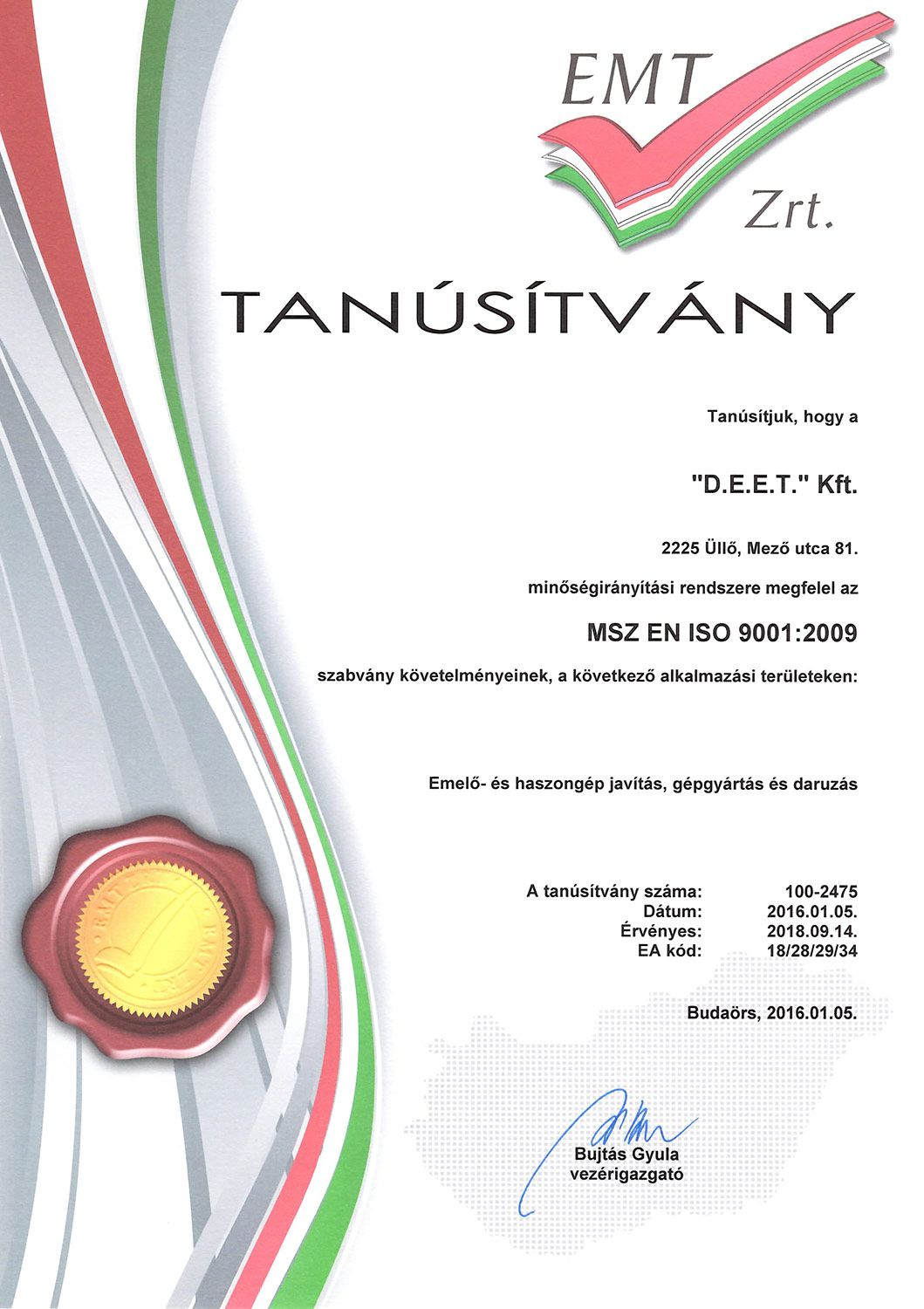ISO 9001-2001
