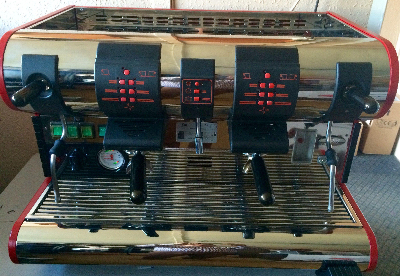 Eladó La San Marco 95 2 fejes kávégép