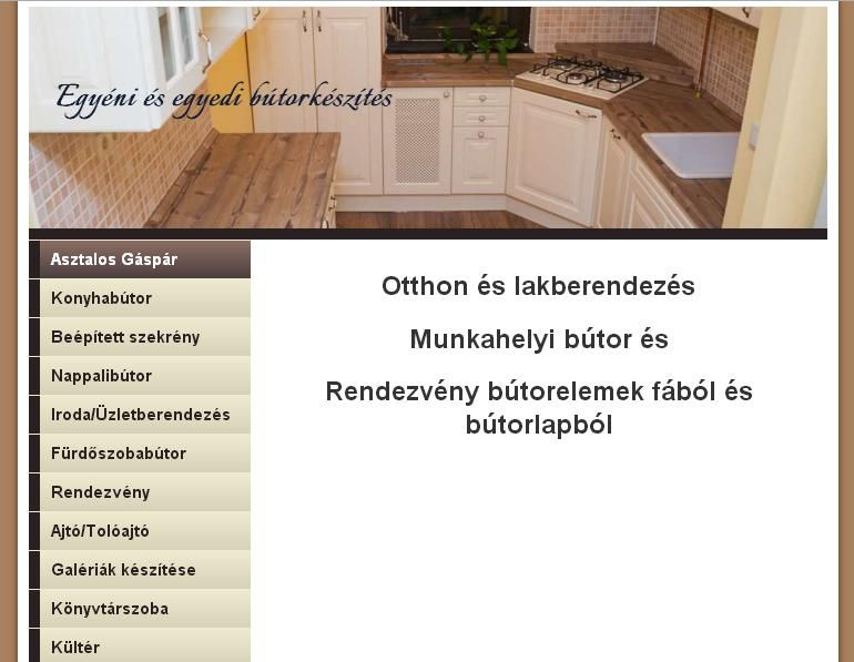 Egyedi bútorkészítés Budapest Wekerle