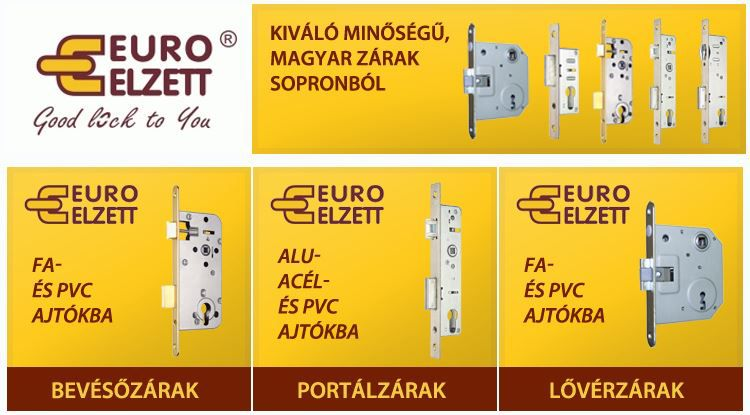 Debreceni Zárcenter forgalmazott termékei